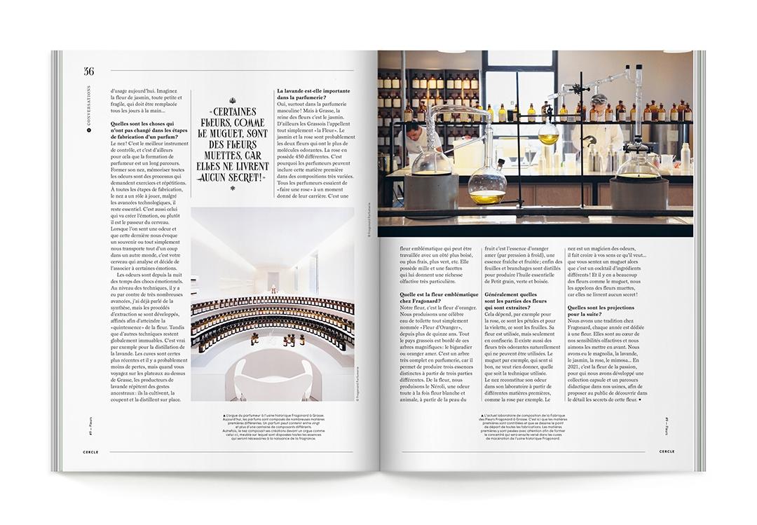 Cercle Magazine n°9: Fleurs