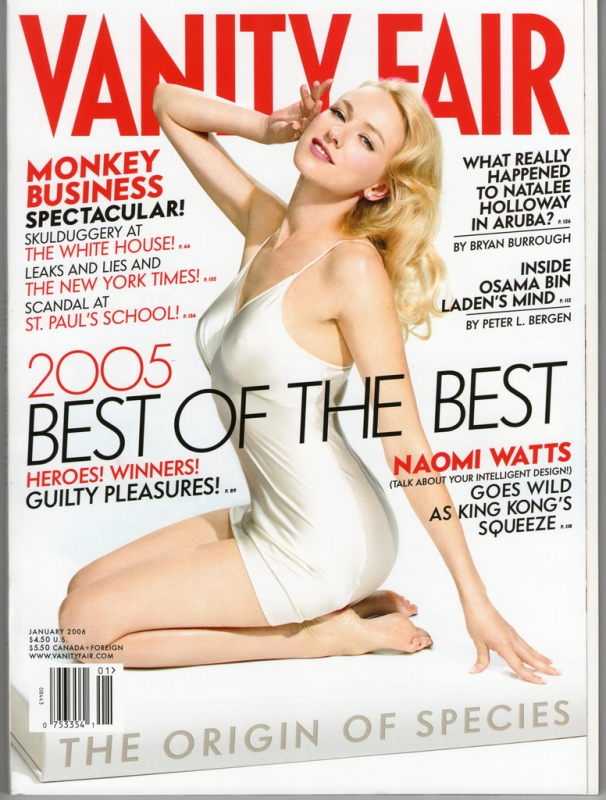 Vanity Fair January 2006