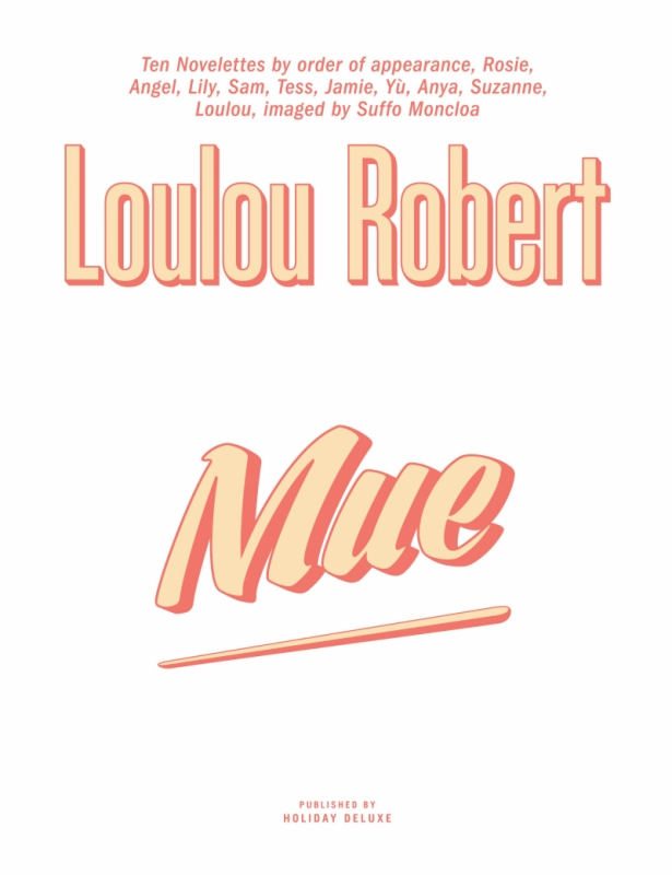 MUE by Loulou Robert (English)