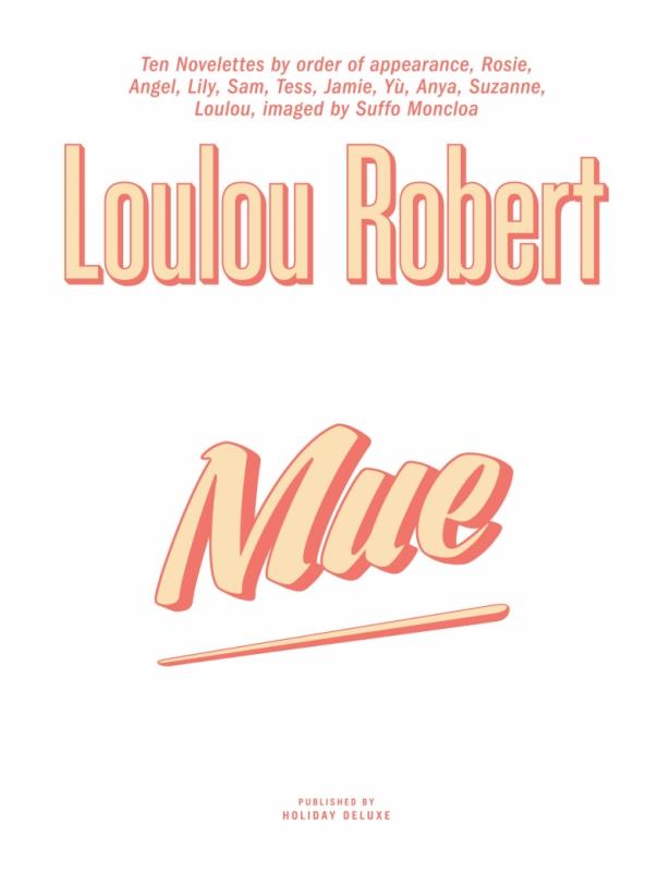 MUE par Loulou Robert (anglais)