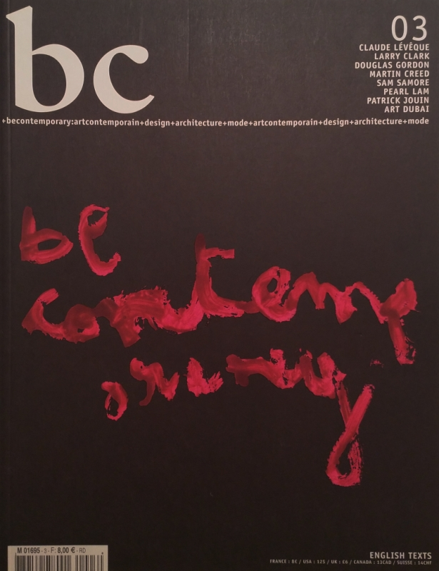 Be Contemporary Issue 3
