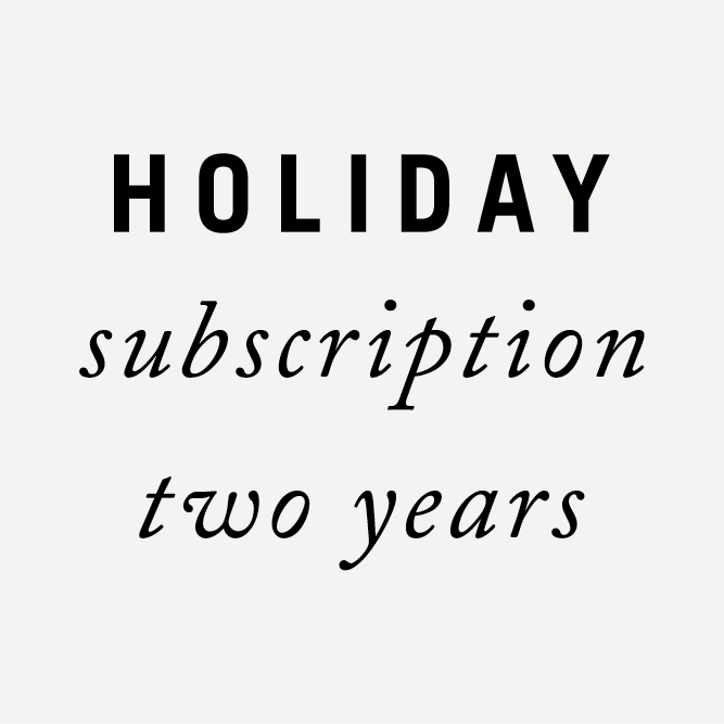 Subscription Holiday 2 years