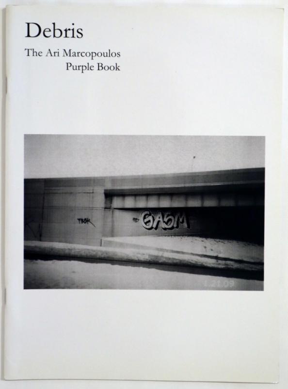 Debris - Ari Marcopoulos Purple Book