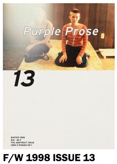 Purple Prose N°13