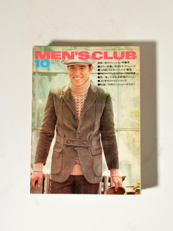 Men's Club Octobre 1974