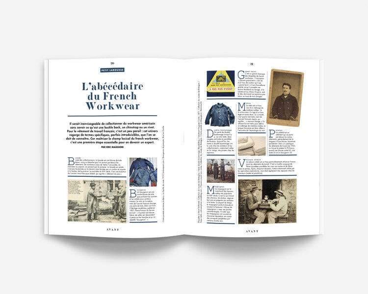 AVANT - An Anthology of French Workwear (FR)