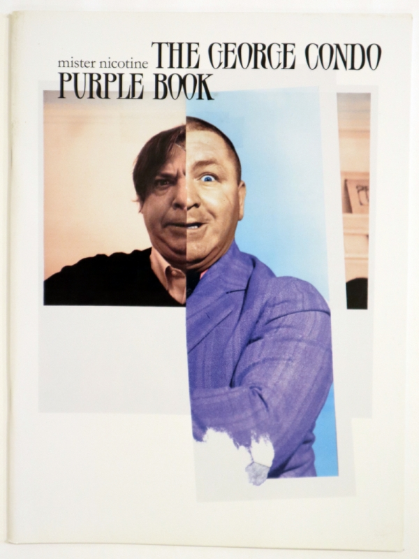Mister Nicotine - George Condo Purple Book