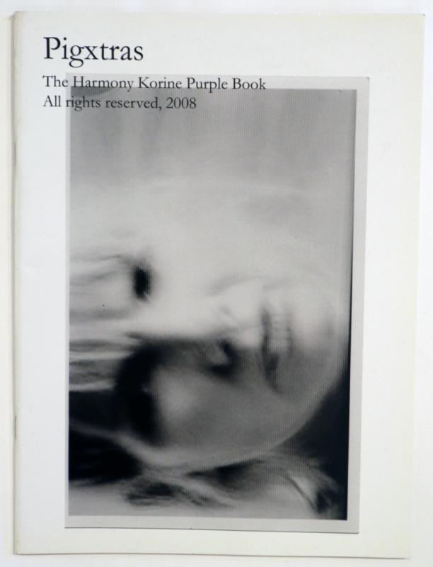 Pigxtras - The Harmony Korine Purple Book