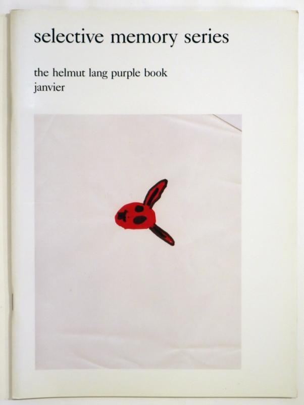Selective Memory Series - Helmut Lang Purple Book