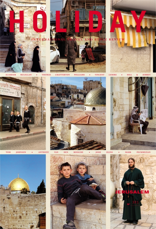 Holiday N°381, Jerusalem Issue