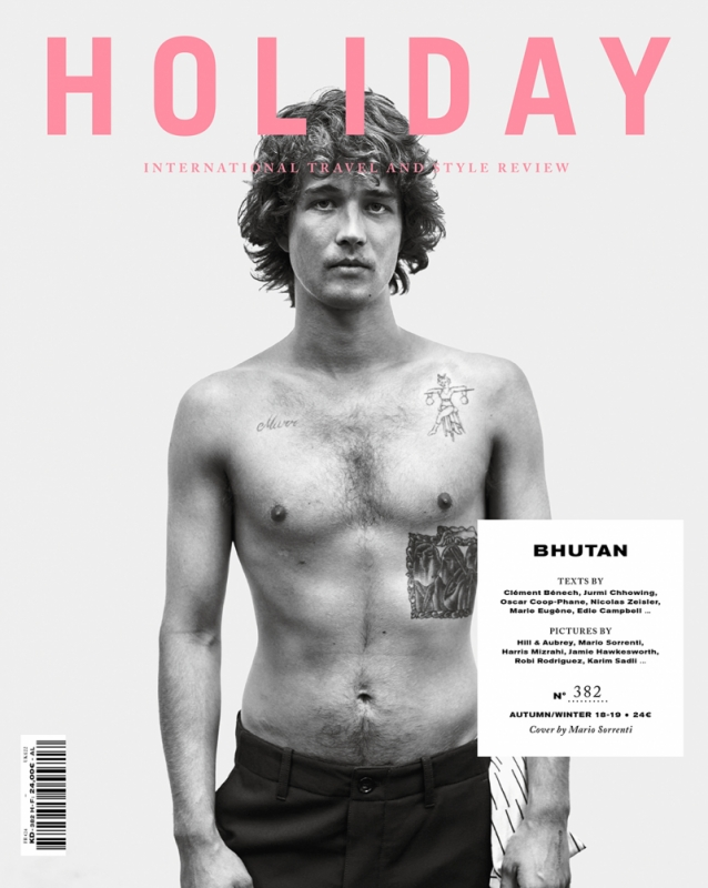Holiday N°382, The Buthan Issue (cover 2)