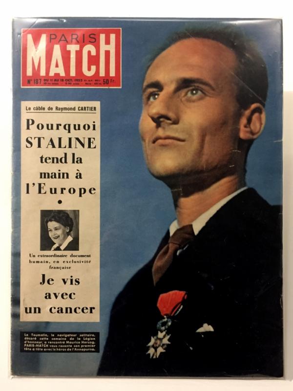 Paris Match 11-18 Octobre 1952