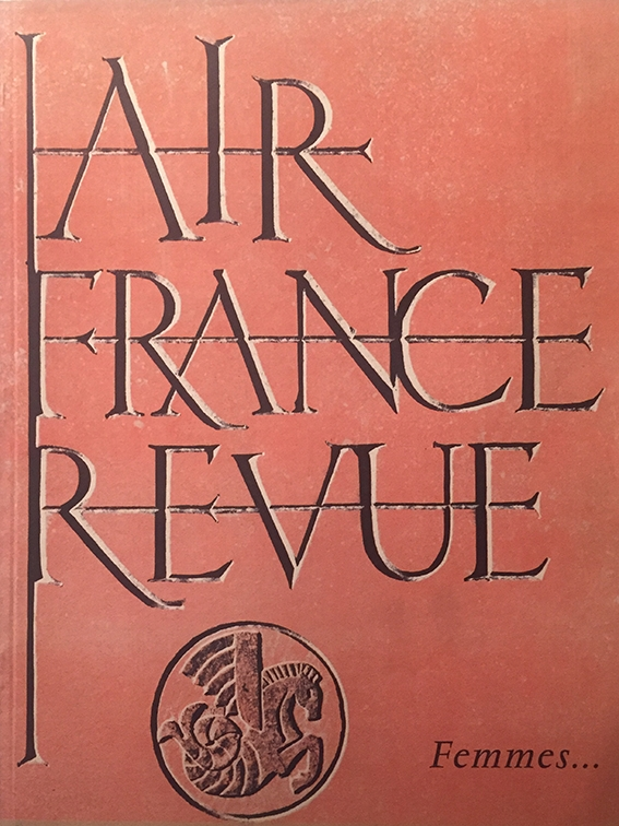 Air France Revue 4ème Trimestre 1954
