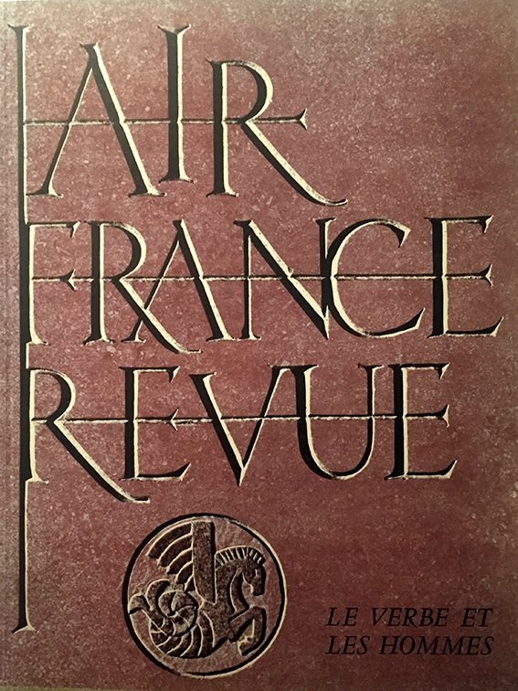 Air France Revue 1er Trimestre 1954