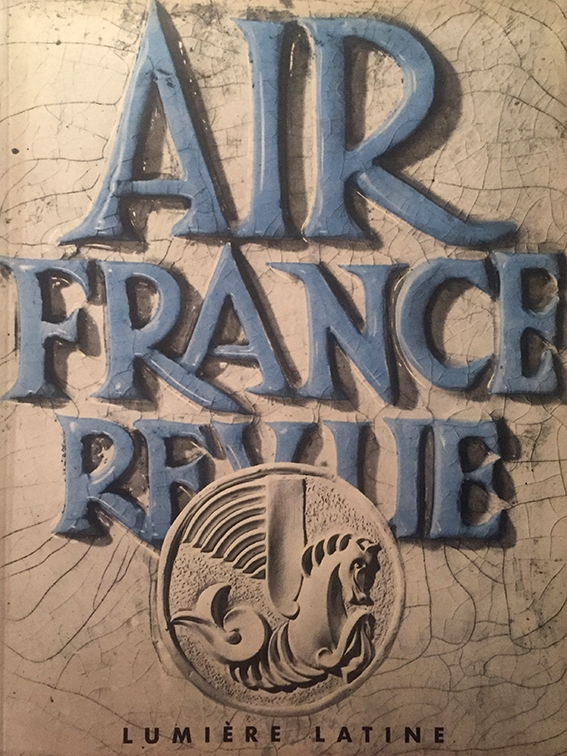 Air France Revue 2ème Trimestre 1953