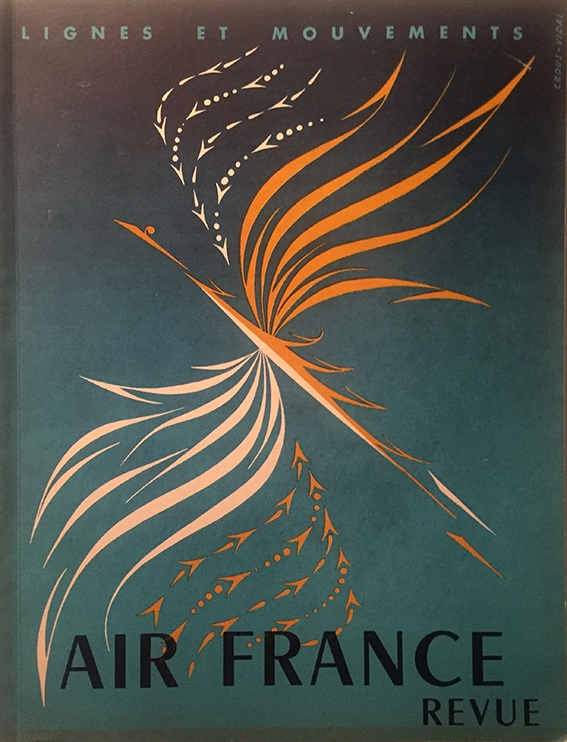Air France Revue 4ème Trimestre 1952