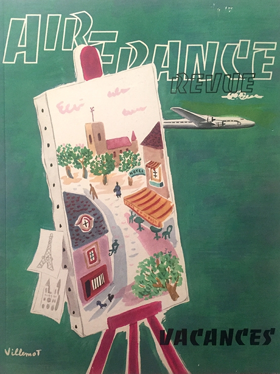 Air France Revue 2ème Trimestre 1952