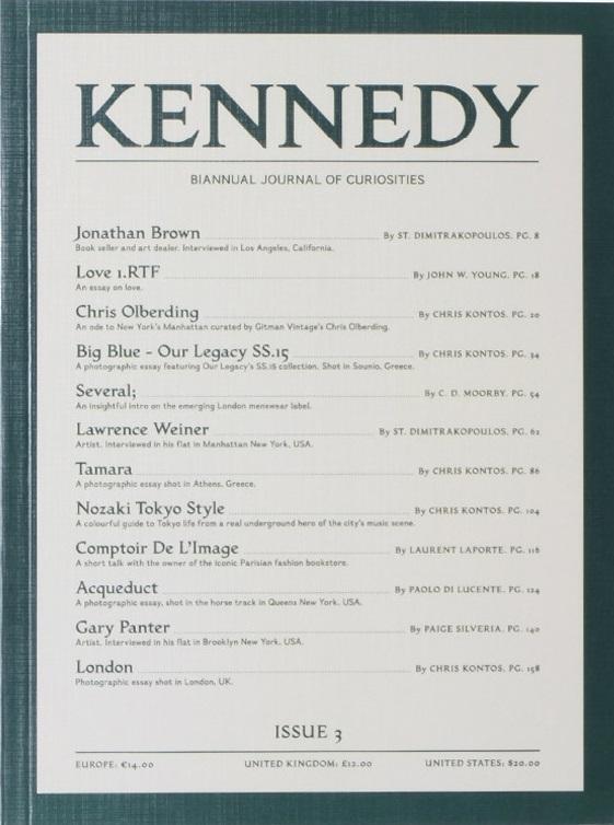 Kennedy Magazine Issue 3
