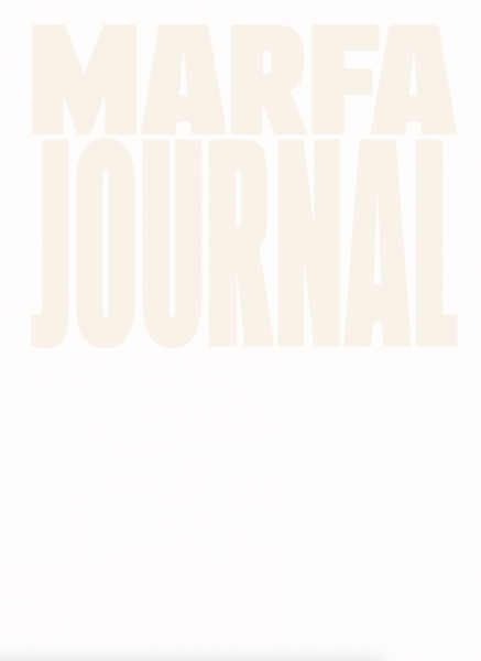 Marfa Journal Issue 7