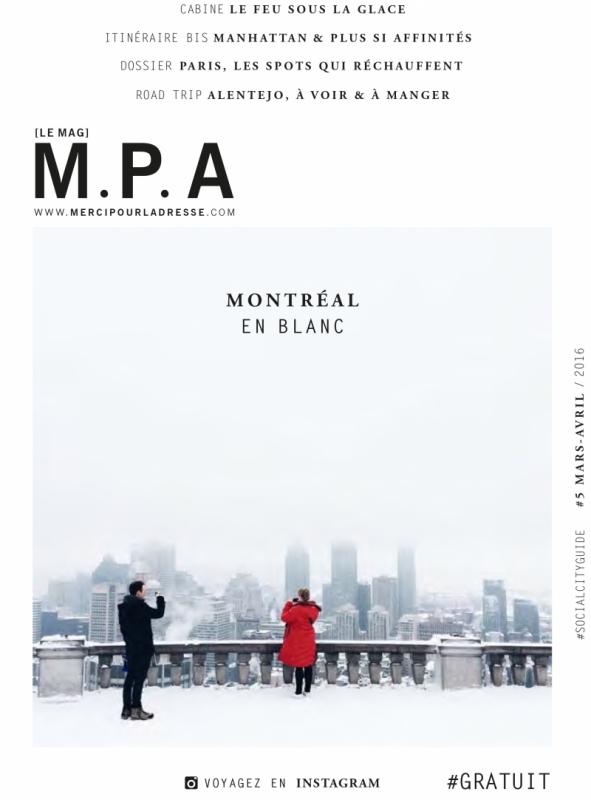 Merci Pour l'Adresse N°5 - Montréal En Blanc