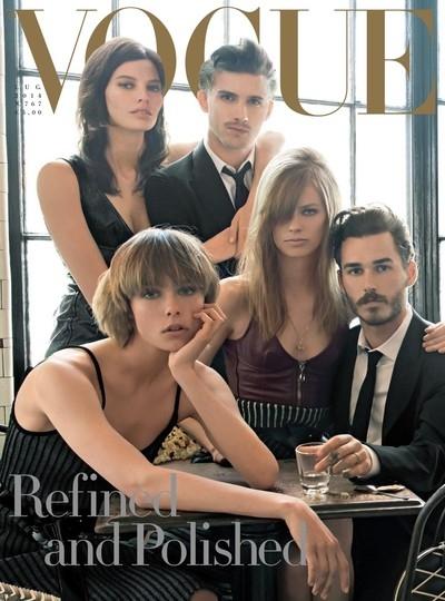 Vogue Italie Juillet 2014