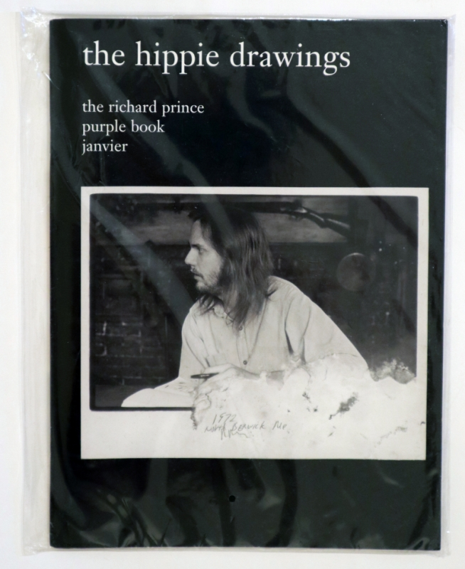 the hippie drawings - the richard prince purple book janvier