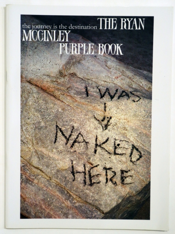 The Journey is the Destination - Ryan McGinley Purple Book