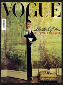 Vogue Italie Juillet 2008