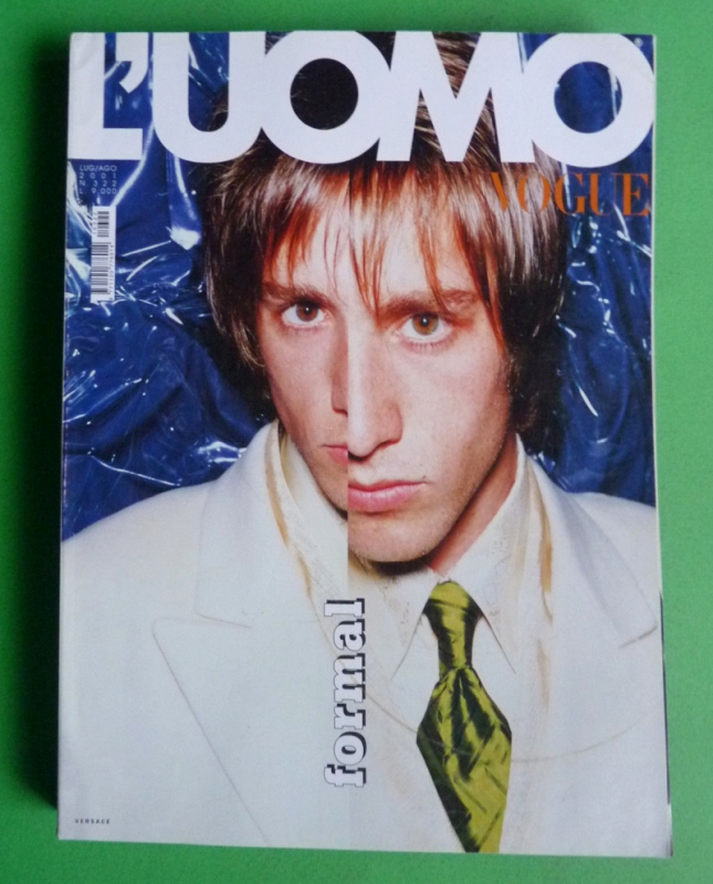 Vogue L'Uomo Juillet-Août 2001