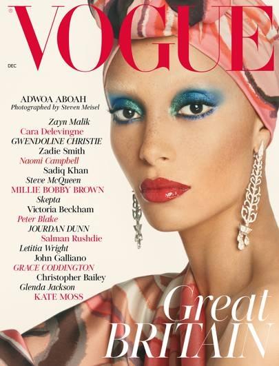 Vogue British Décembre 2017