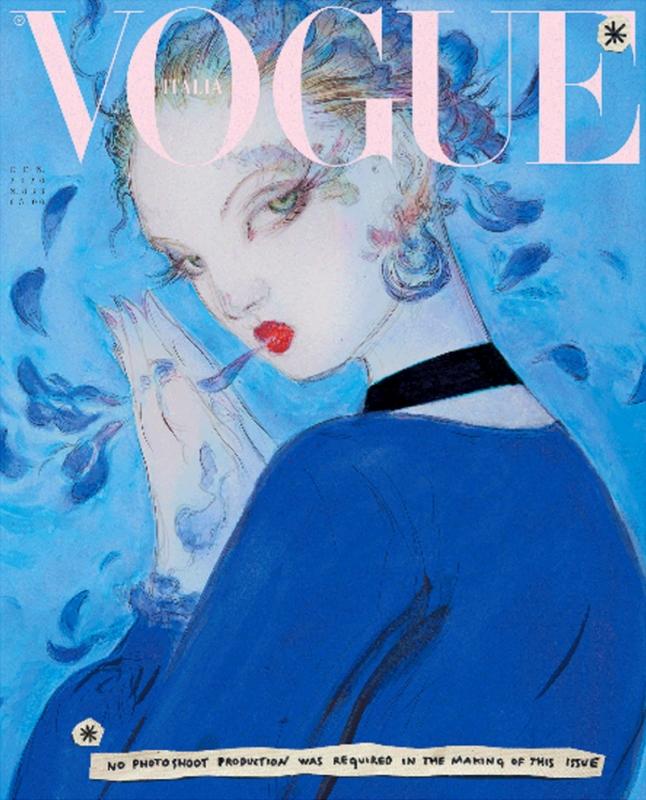Vogue Italia janvier 2020