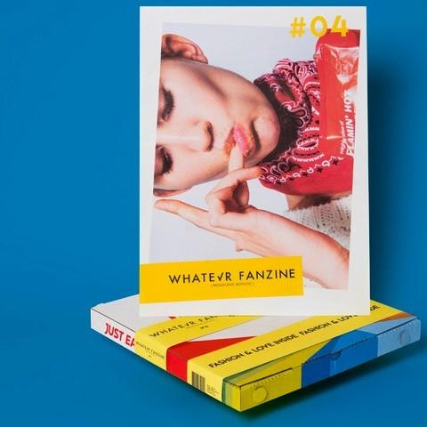 Whatevr Fanzine Issue 4