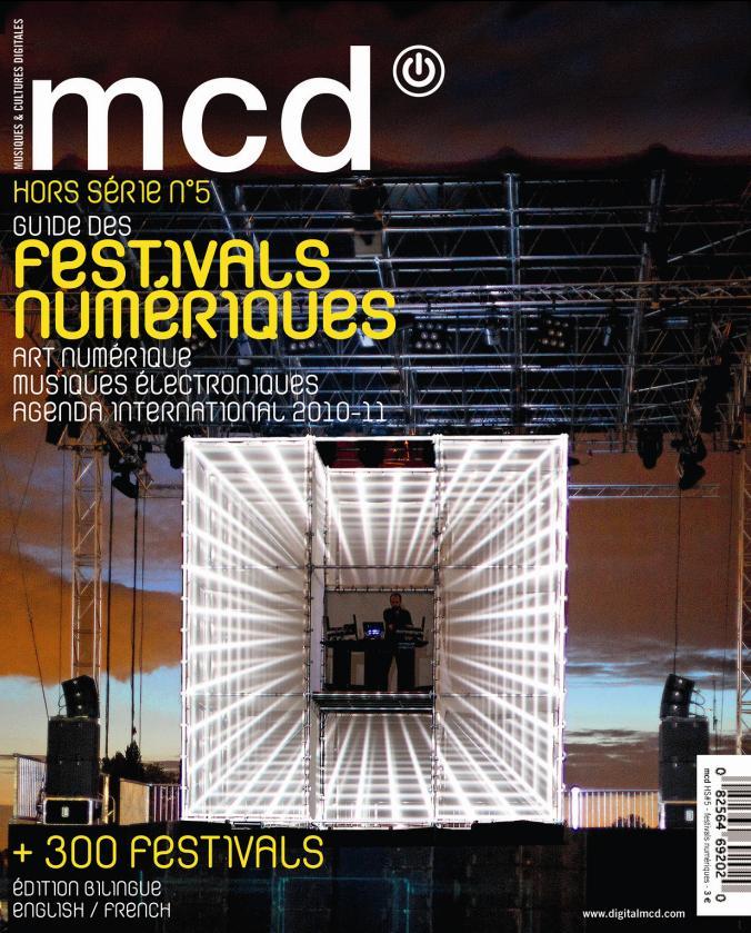 MCD GUIDE DES FESTIVALS 200-2011
